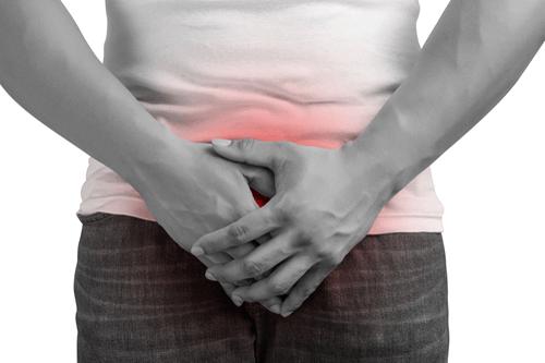 prostatitis causada por inflamación de la enfermedad del colon