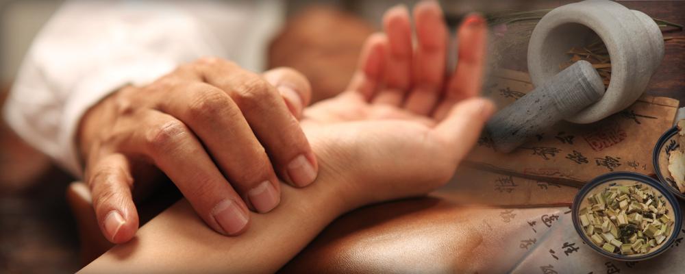 Hierbas y acupuntura